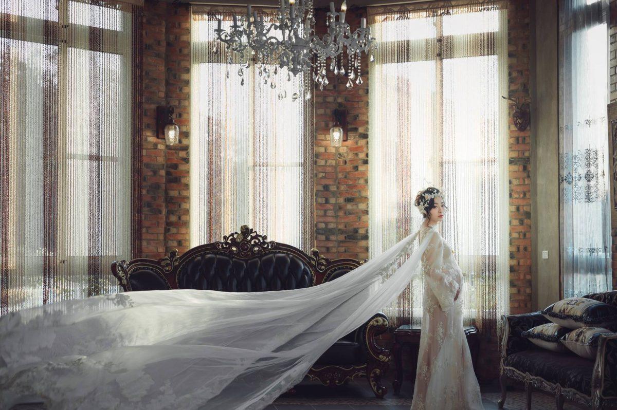 精心設計的孕婦寫真,時尚簡約與華麗典雅的比拼。