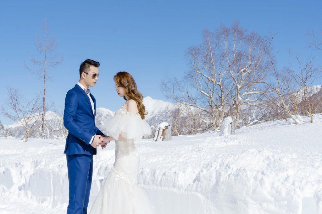 海外婚紗、黑部立山、雪景
