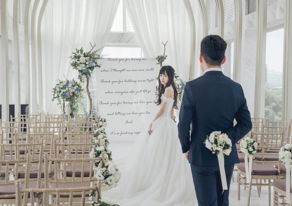 台中婚宴場地,婚禮攝影,白色夢幻,韓式婚禮