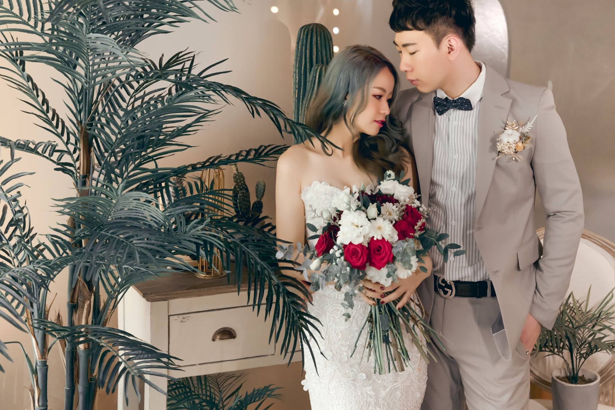Lady Flora 手工訂製婚紗,台中,求婚,自助婚紗,造型,配件