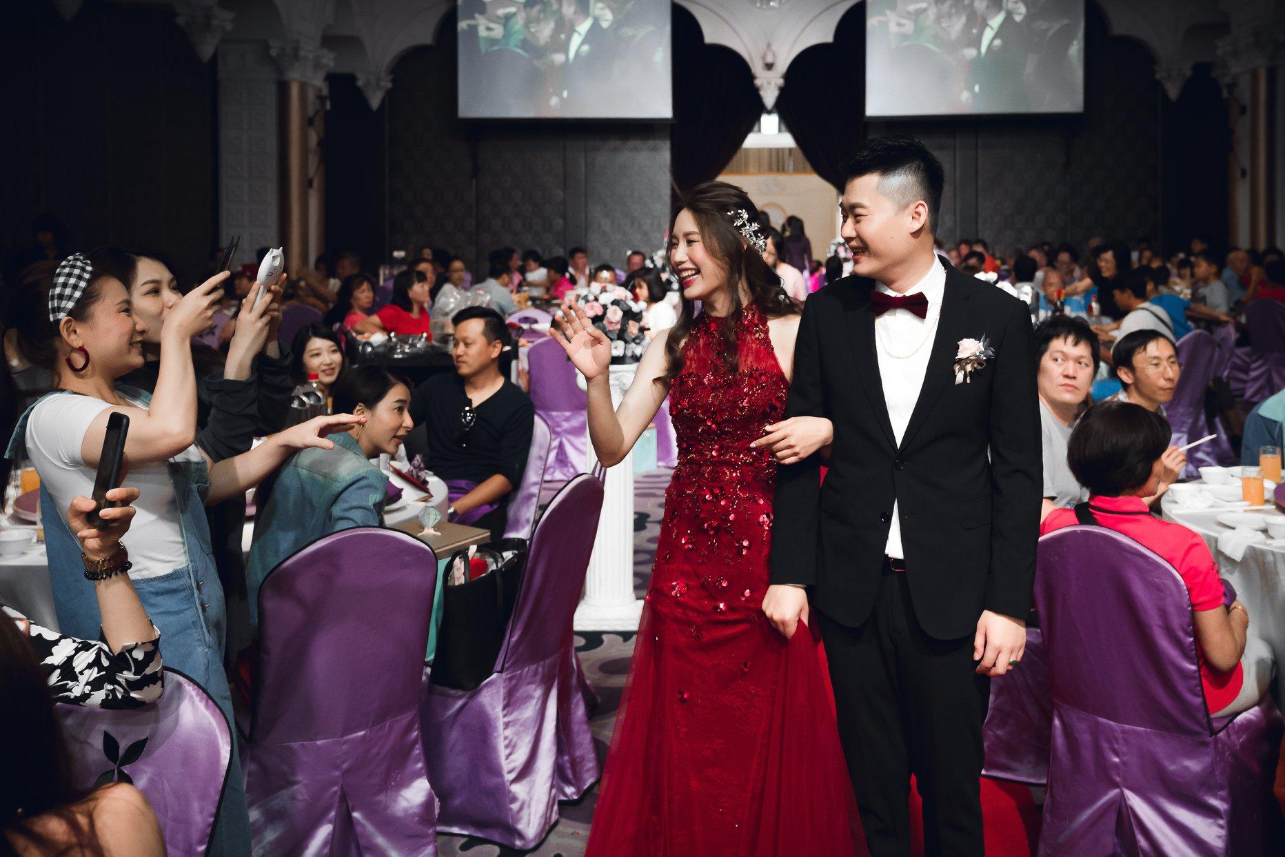 台中婚禮紀錄,類婚紗,婚宴場地,潮港城