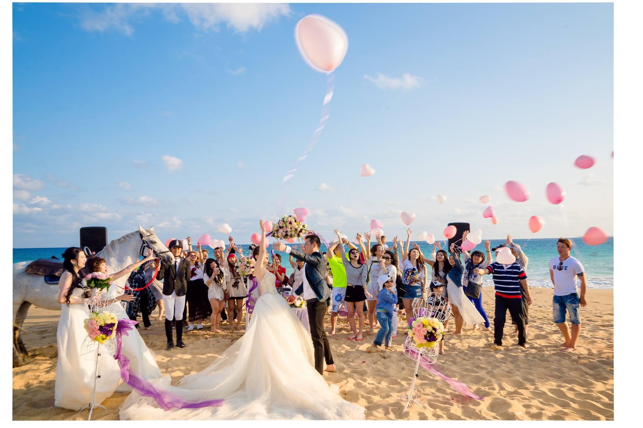 海外婚禮,墾丁,夏都,婚禮紀錄,海灘婚禮