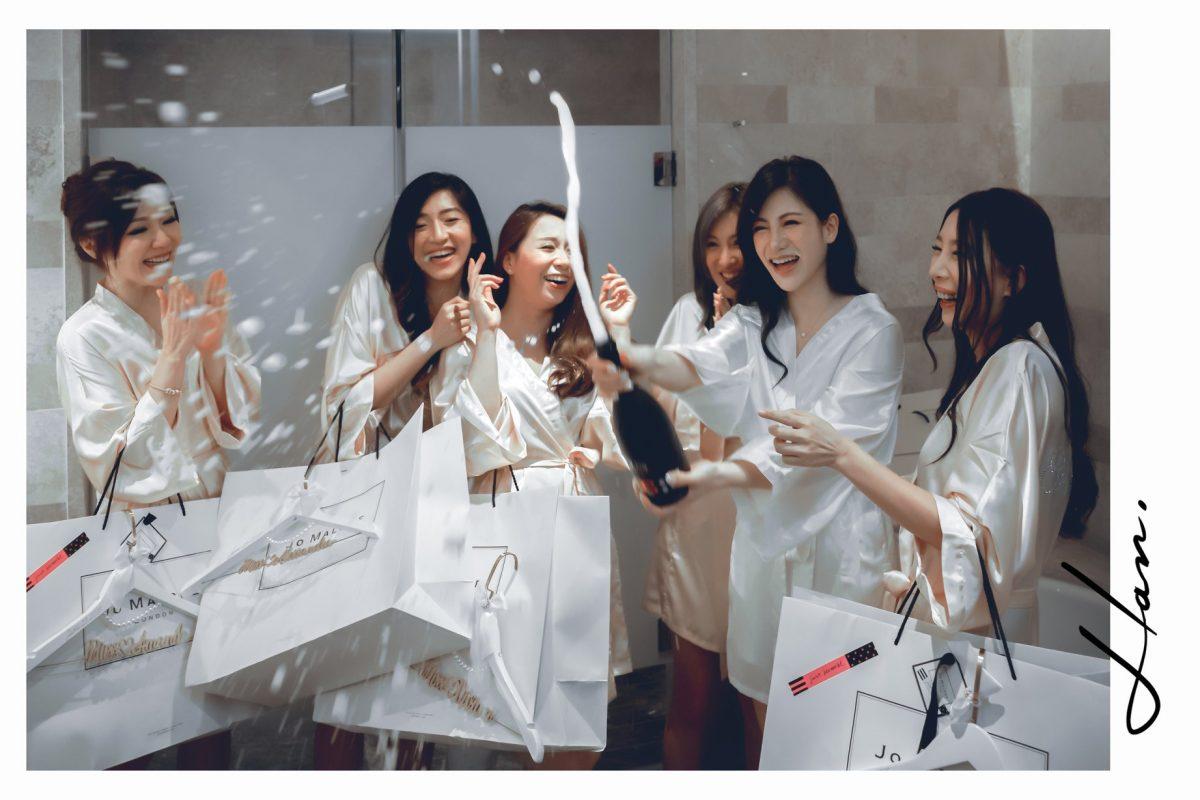 台北婚禮紀錄 | 萬豪酒店 | 極致浮誇的婚宴。