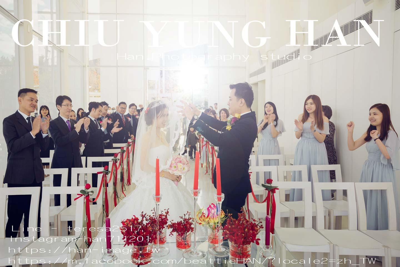 新秘,證婚儀式,美式婚禮,心之芳庭,台中婚禮紀錄