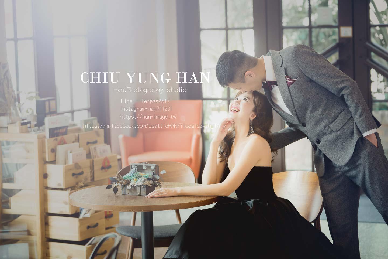 台中婚紗攝影|文青除了小清新也能有不同的一面。
