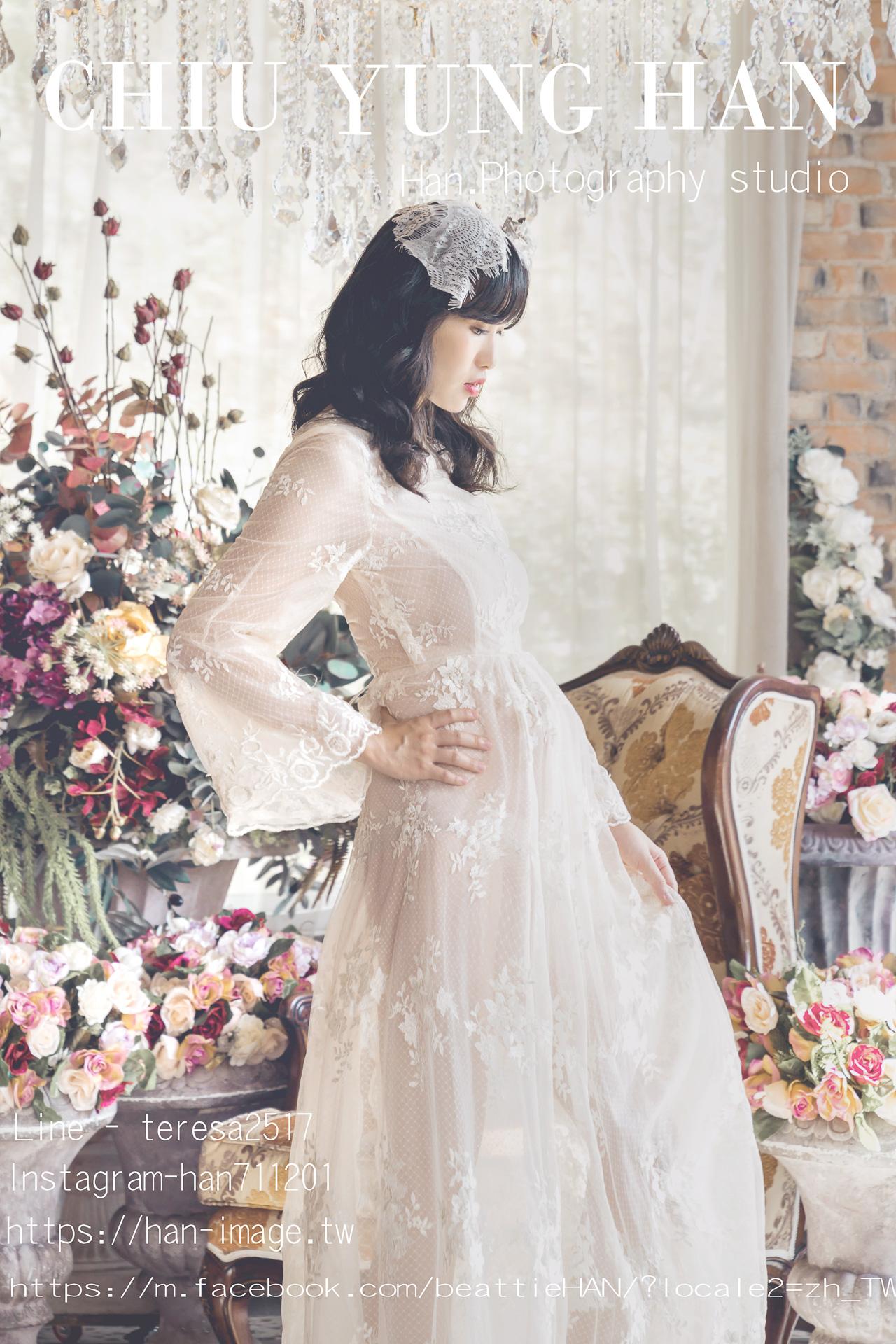 台中孕婦寫真,唯美、個性、時尚、性感,多變的孕婦寫真讓您一次擁有,孕期最珍貴的紀念,Han婚紗影像工作室
