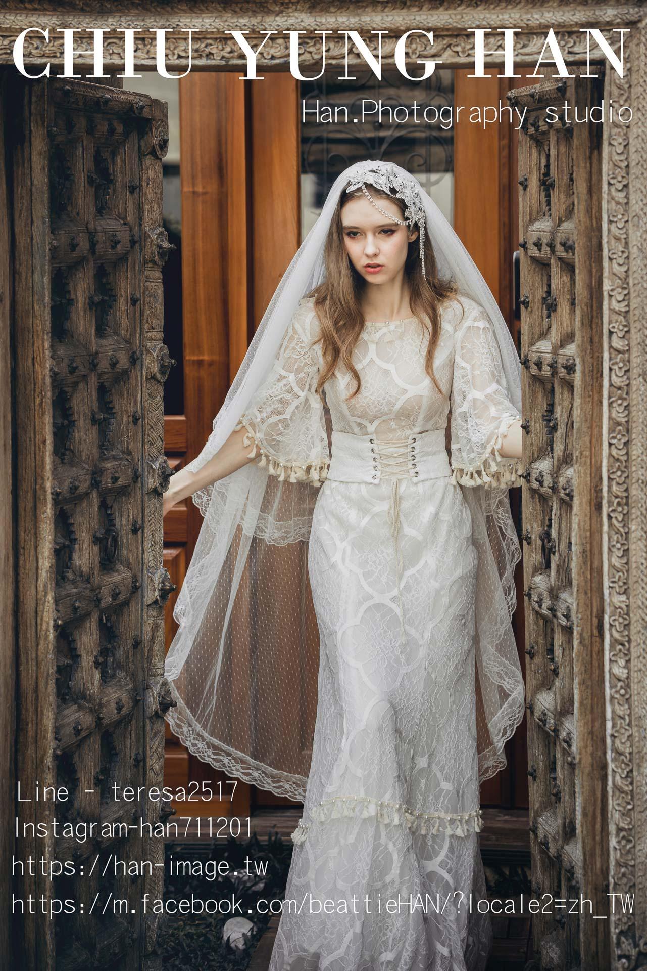Boho Wedding,婚紗攝影,禮服,禮服創作,拍婚紗