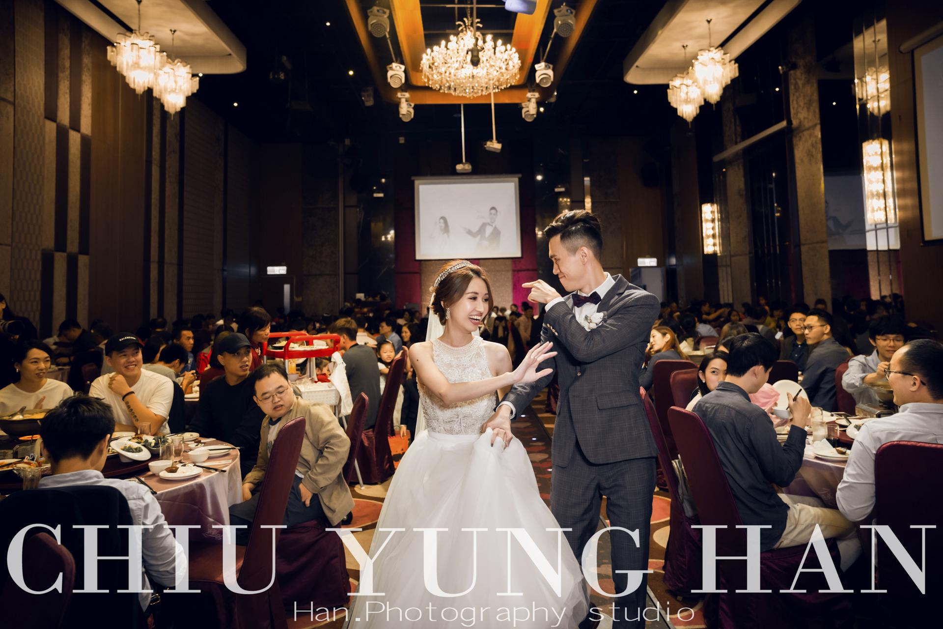 台中婚禮紀錄|中部海線最高檔的婚宴會館。