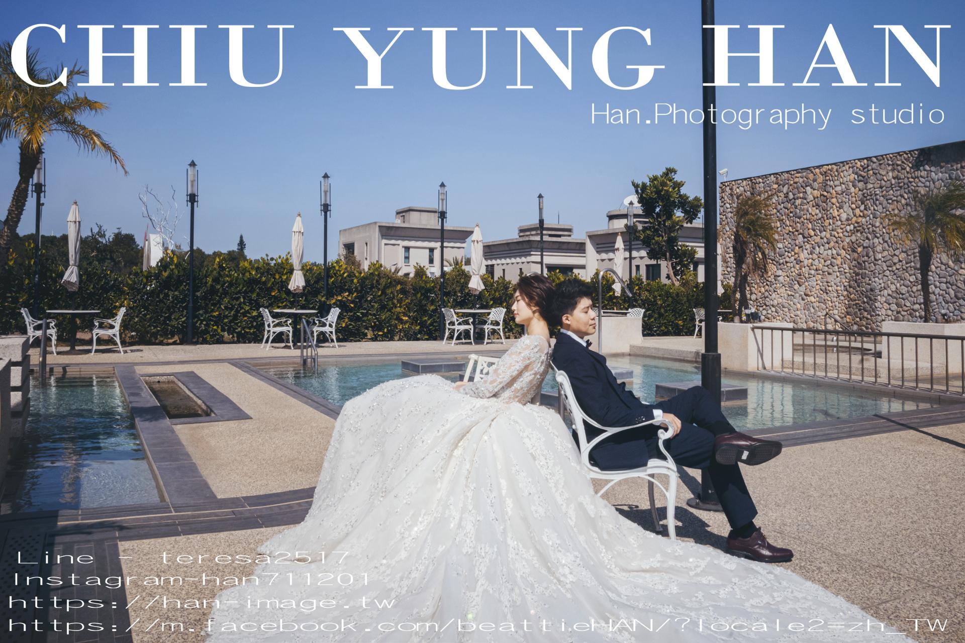 台中婚禮紀錄|清新溫泉飯店 |美到彷彿置身海外婚禮。
